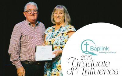 The Baplink Graduate of Influence Award